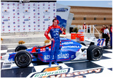 Bryan Herta Victory Lane Kansas Speedway Archival Photo Sports Poster Print Poster