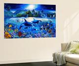 Majestic Kingdom Mini Mural Huge Poster Art Print - Duvar Resimleri