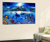 Majestic Kingdom Mini Mural Huge Poster Art Print Mural de papel de parede