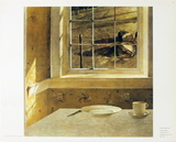 Ground Hog Day Prints by Andrew Wyeth
