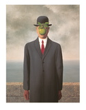 Le fils de l'homme, 1964 Affiche par Rene Magritte