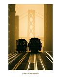 Cable Cars, San Francisco Kunst af Mitchell Funk