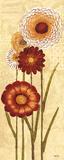 Happy Flowers Neutral Panel I Prints by Kristy Goggio