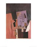 La Guitare Kunstdrucke von Pablo Picasso