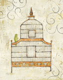 Bird Cage III Art by Avery Tillmon