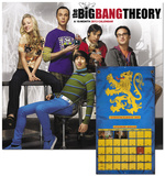 The Big Bang Theory - 2013 Wall Calendar Calendários