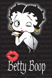 Betty Boop Boop Kiss Print