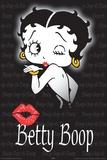 Betty Boop Boop Kiss Print