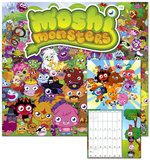 Moshi Monsters - 2013 Wall Calendar Calendars