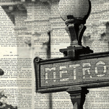 Metro I Crop Prints by Marc Olivier