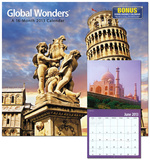 Global Wonders &#174; - 2013 Wall Calendar Calendars