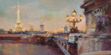 Parisian Evening Crop Art by Marilyn Hageman