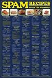Spam Recipes Affiche