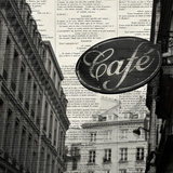 Cafe Print by Marc Olivier