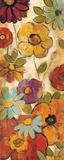 Floral Sketches on Linen I Posters af Silvia Vassileva