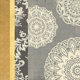 Contemporary Lace I Poster von Moira Hershey