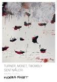 Petals of Fire Kunstdruck von Cy Twombly