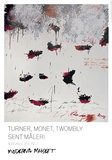 Petals of Fire Prints by Cy Twombly