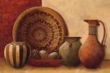 Basket and Vessels Poster by Kristy Goggio