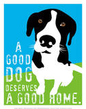 A Good Dog Print by Ginger Oliphant