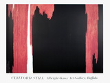 Untitled Collectable Print by Clyfford Still