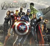 The Avengers - 2013 Wall Calendar Calendars