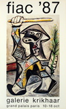 Arlequin Collectable Print by Pablo Picasso