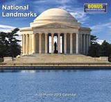 National Landmarks - 2013 Landmark Wall Calendar Calendars