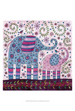Elephant Walk Print by Kim Conway