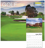 Golf - 2013 Landmark Wall Calendar Calendars