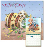 Gary Patterson's Paws & Claws - 2013 Wall Calendar Calendars