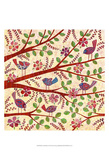 Birds on Branches Poster by Kim Conway