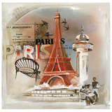 Paris Tour Eiffel Art by  Lizie