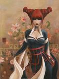 Veuve Noire Affiche par  Misstigri
