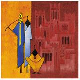 Maroc Casbah Posters af Christian Keramidas