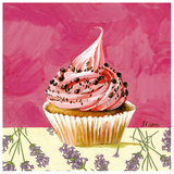 Cupcake Grain Chocolat Prints by Pascal Cessou