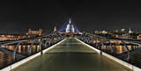 London Millenium Bridge Art by Trejo