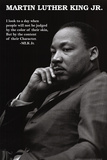 Martin Luther King Jr. - Character Plakater