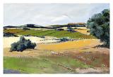Colorful Landscape IV Prints by Jacques Clément