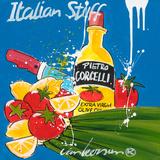 Italian Stuff Posters by El Van Leersum