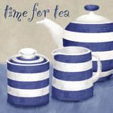 Time For Tea Prints by Linda Wood