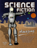 Science Fiction Literary Genre Prints by Christopher Rice