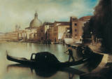 Sul Canal Grande Poster by A. Sgarbossa