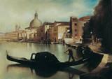 Sul Canal Grande Poster by A. Sgarbossa