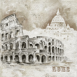 Rome Art by Dominguez 