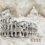Rome Art by  Dominguez