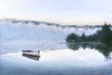 Brume Sur Le Lac D'Argent Art by Jocelyne Maucotel