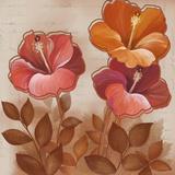 Golden Hibiscus II Posters by  Sauber