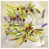 En Provence Olives Poster by  Lizie