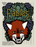 Fables Literary Genre Posters by Christopher Rice
